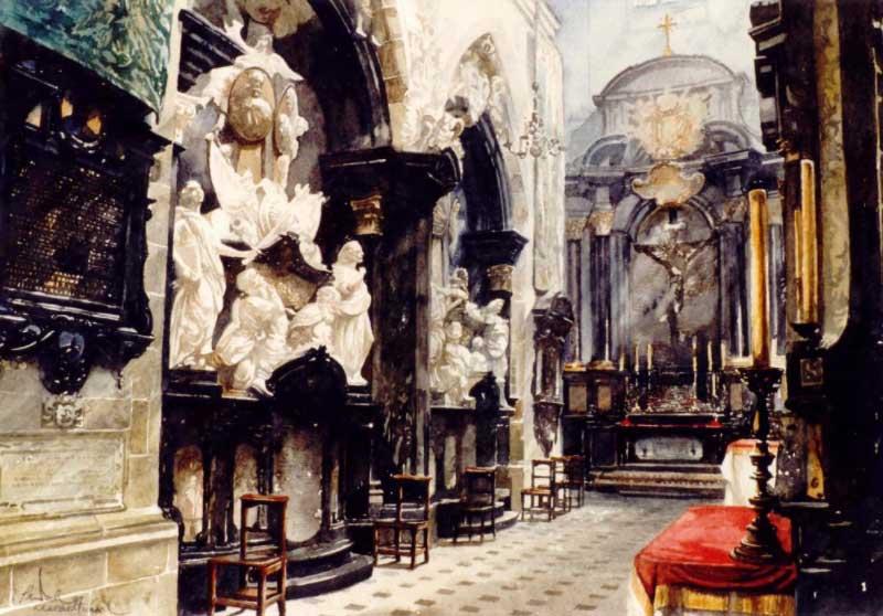 Déambulatoire Cathédrale De Wawel, ?