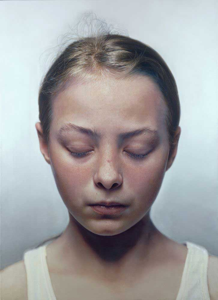 Head of a child, 2001