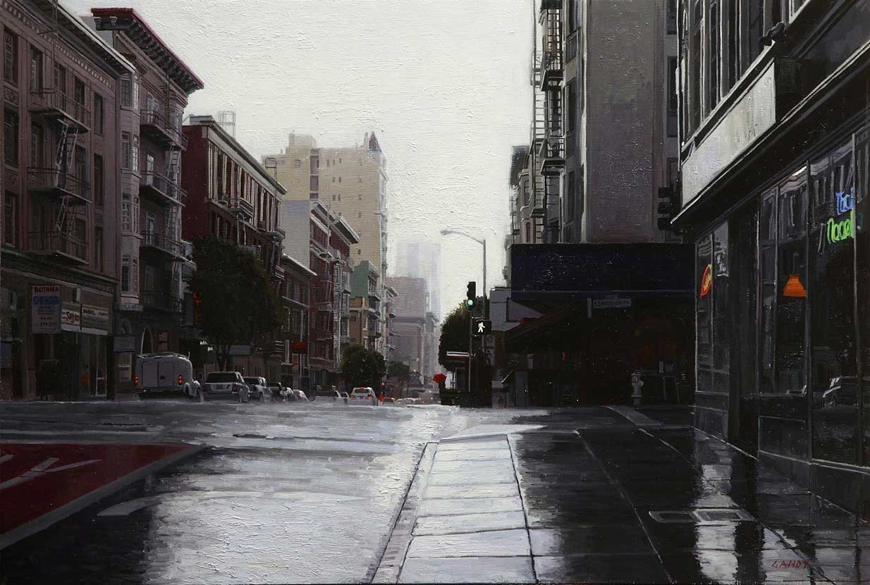 Rain in the Tenderloin, 2015