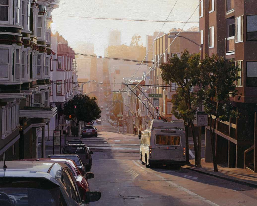 Summer light on Sacramento Street, 2013
