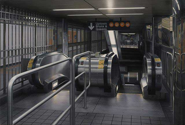 Escalator no.31 , 2014