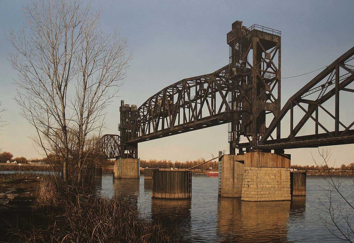 Lift Bridge on the Arkansas River, 2009