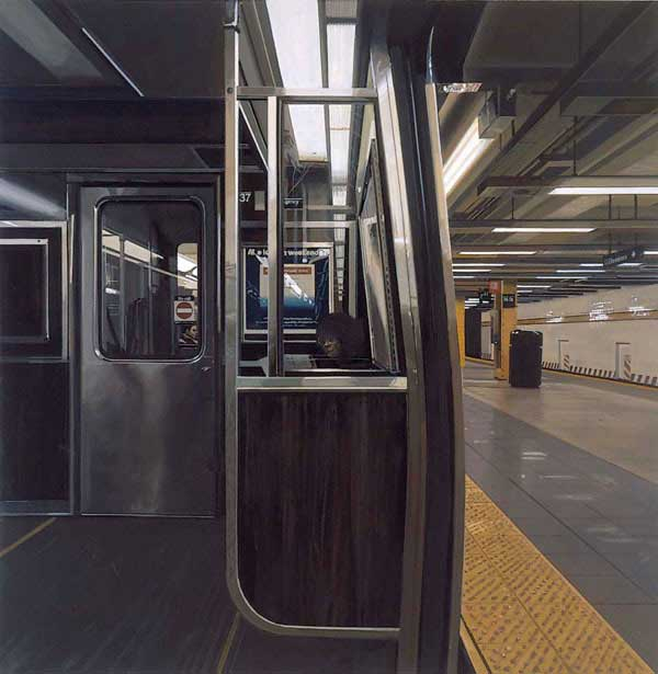 14th Street subwa station, 2003