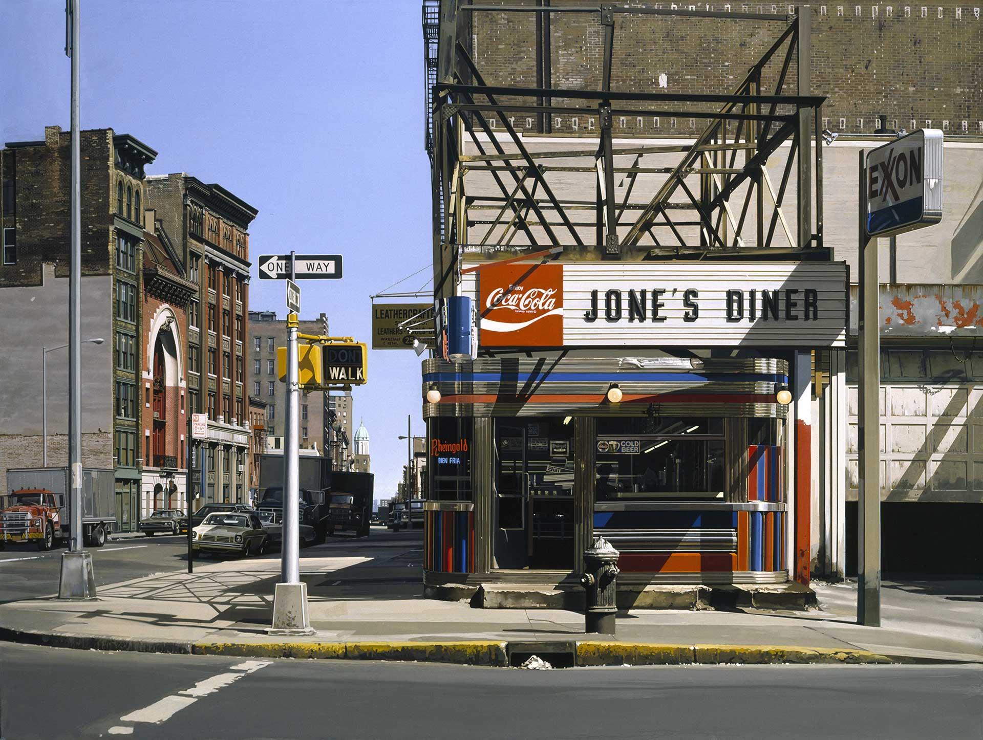 Jones Diner, 1979