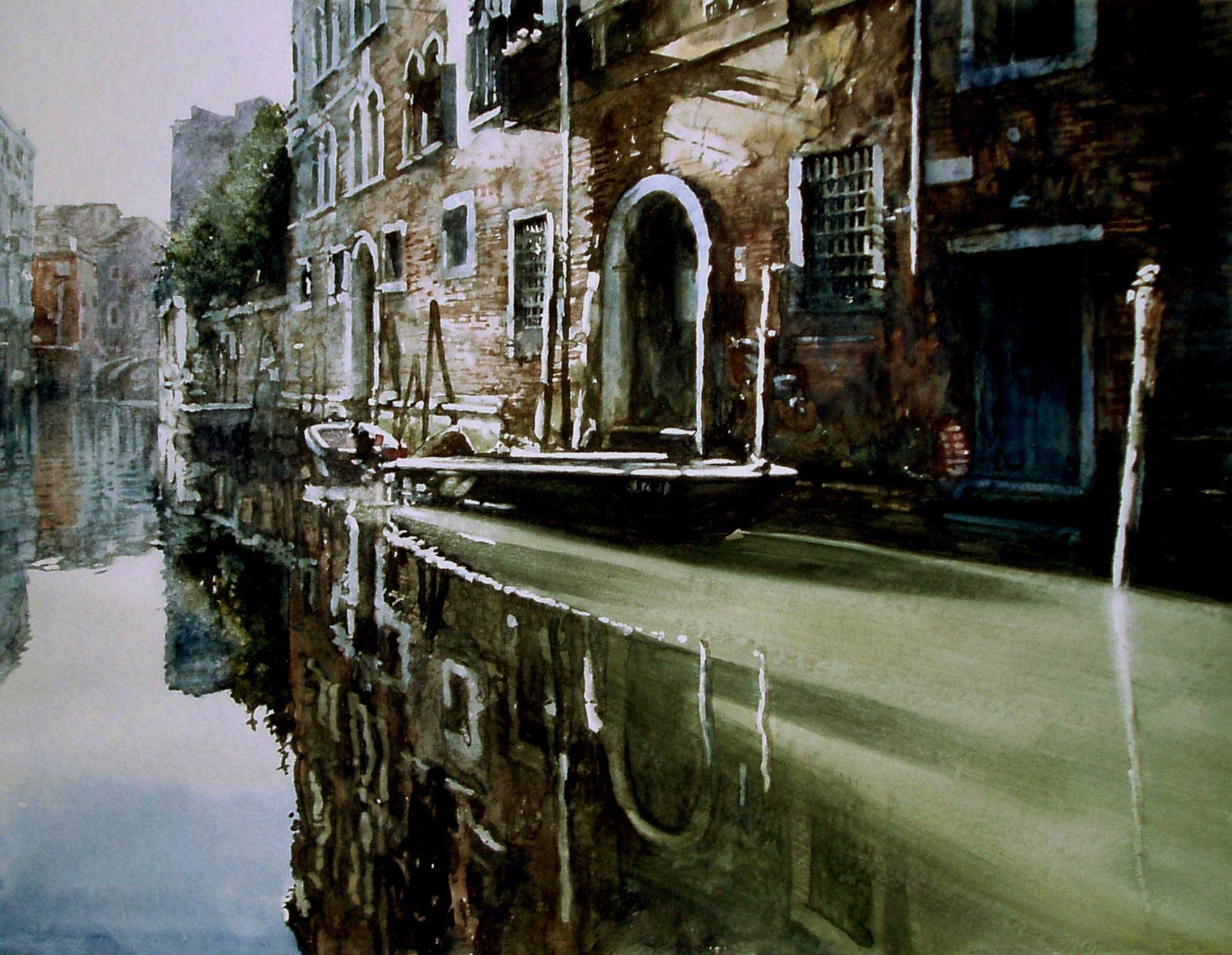 Rio dei Santi Apostoli (Ponte-San-Canzian) à Venice, Italy, ?