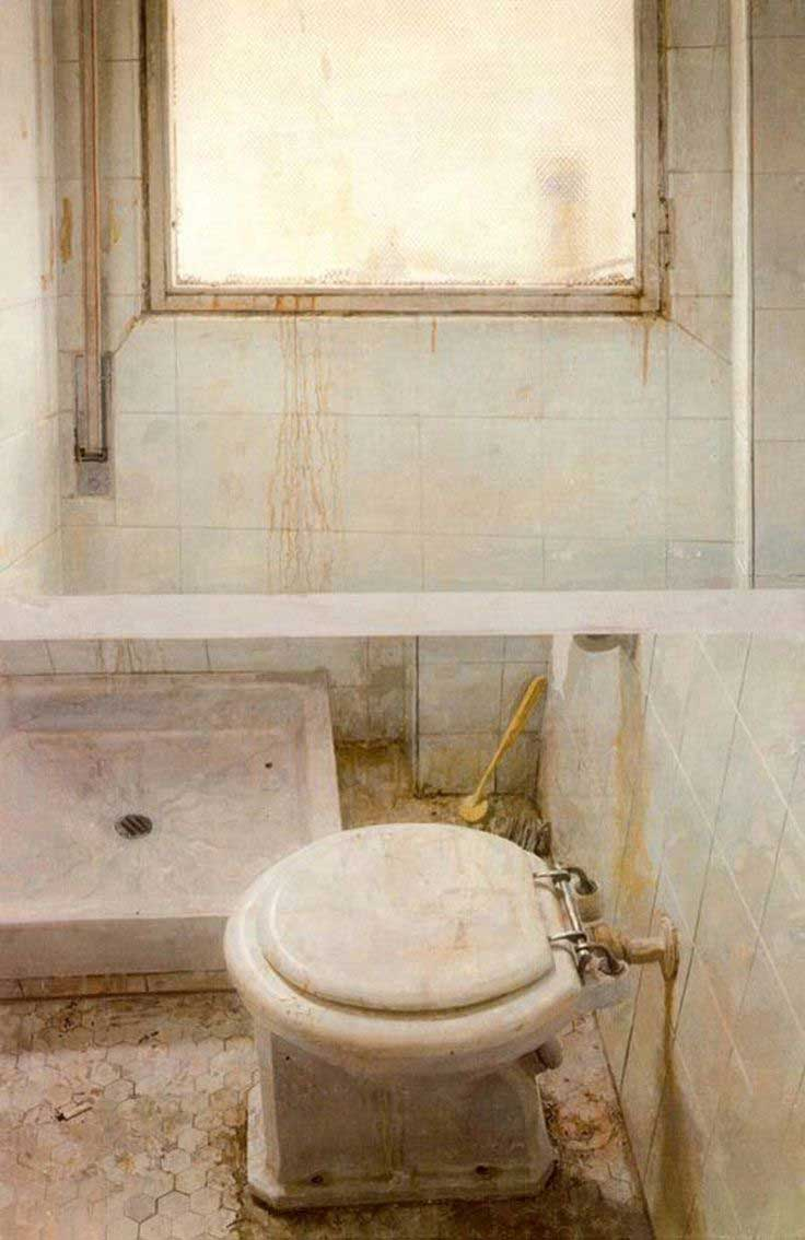 Toilet and window, 1971