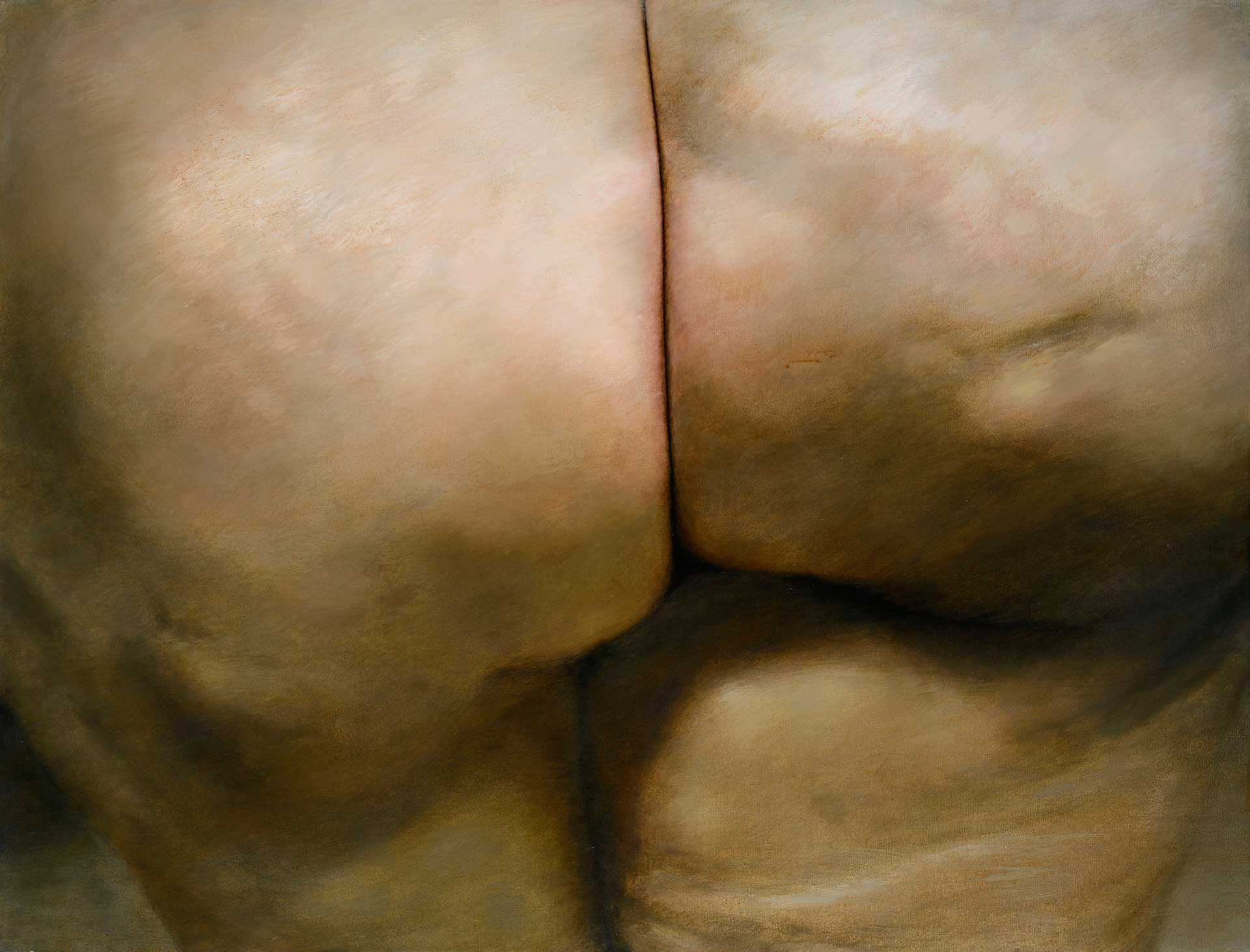 Torso of the picture - Back view, 2006