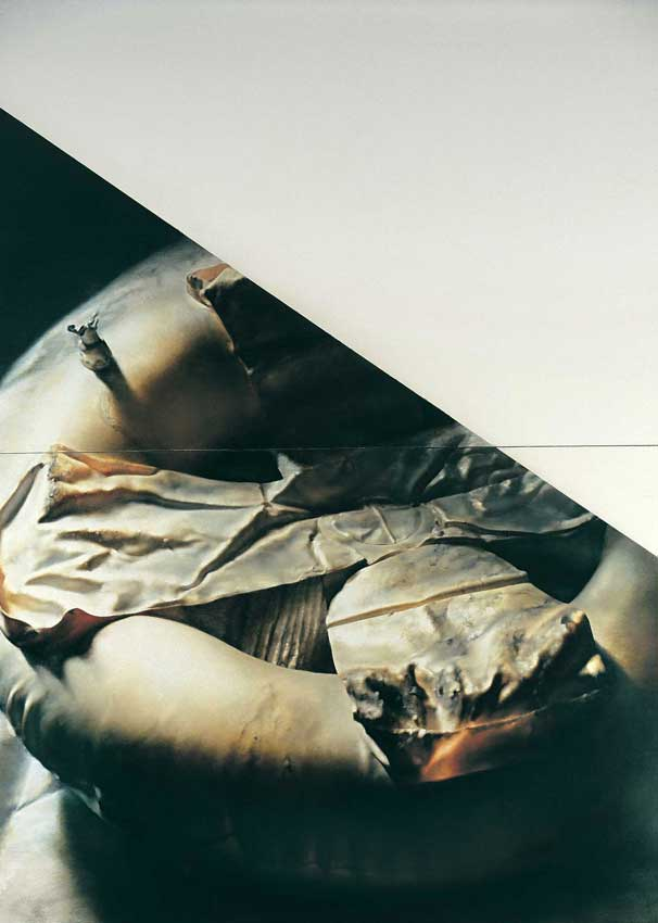 Torso of the picture II. - Mental rescue,1995