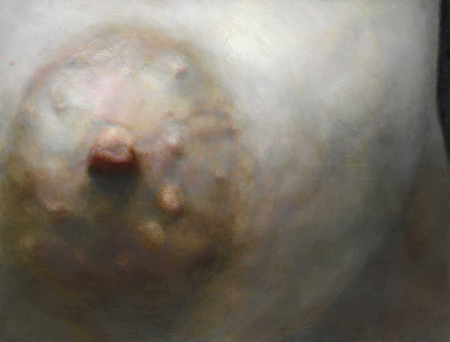 Torso of the picture - Left Nipple, 2005