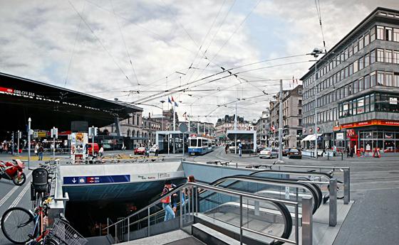 Bahnhofplatz, 2009